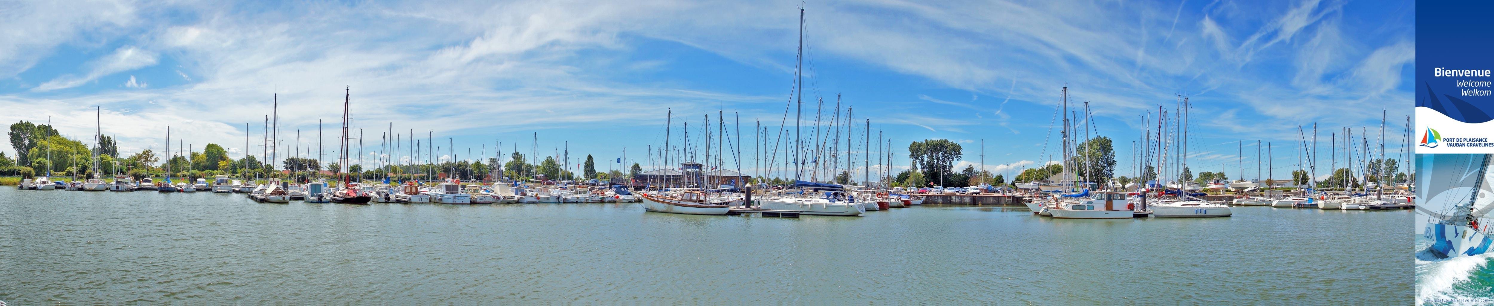 Bienvenue au Port de Plaisance de Gravelines ! Il est ancré à l'abri du vent aux abords du centre ville, au cœur d'un site fortifié par Vauban, appelé « Bassin Vauban ».  La Citadelle de Vauban fait du port de plaisance de Gravelines une escale touristique fort prisée.